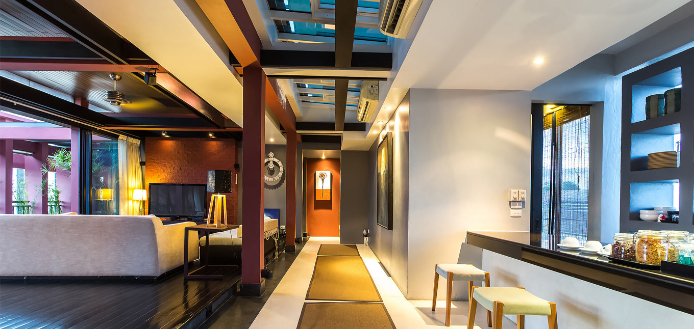 Bangkok city homestay bangkok boutique hostels and for Design homestay